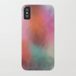 Abstract Square - Colored  iPhone Case