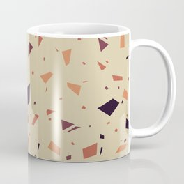 Dirt Terrazzo - Muted Earthy Tones - Abstract Marble Granite Speckle Pattern  Coffee Mug