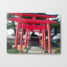 鳥居 Torii Metal Print