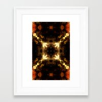 pagan Framed Art Prints featuring Pagan  sun  by DIVIDUS