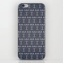 Denim Mudcloth iPhone Skin