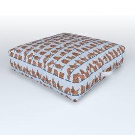 Cocker Spaniel  Yoga Outdoor Floor Cushion