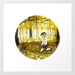 Swamp Memories  Art Print