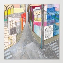 Nisja: tokyo 1 Canvas Print