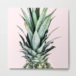 #pineapple Metal Print