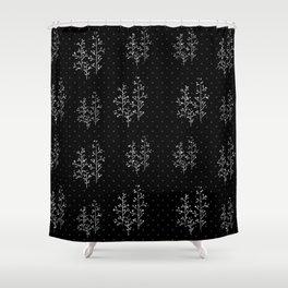 Miss Fall Shower Curtain