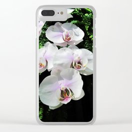 A Trail of Orchids Clear iPhone Case