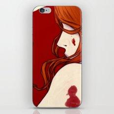 Blood Floor iPhone & iPod Skin