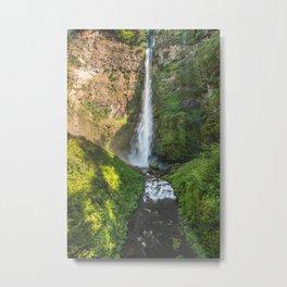 Multnomah Falls Oregon Metal Print