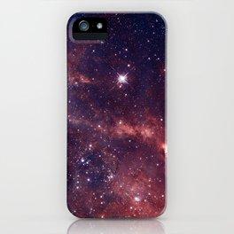 Magellanic cloud galaxy iPhone Case
