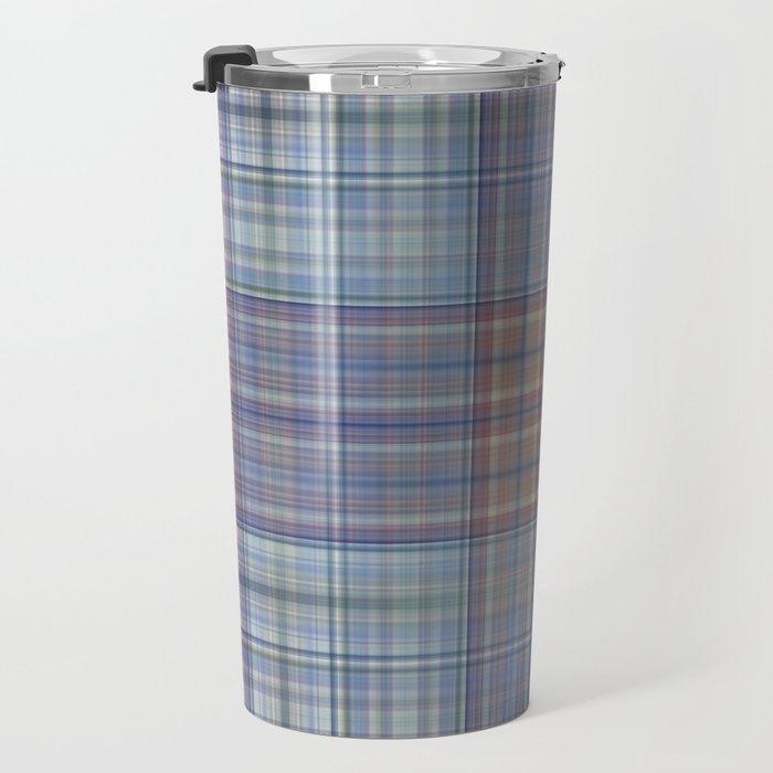 Classic Scottish plaid tartan pattern Travel Mug
