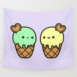 Ice cream love Wall Tapestry