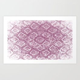 Roses are violet Art Print