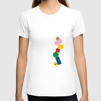 pixel art T-shirts featuring Pixel by Pierre-Emmanuel Lyet