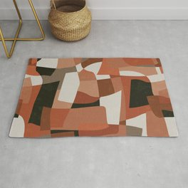 Nomade Abstraction / Mid Century Shapes Rug