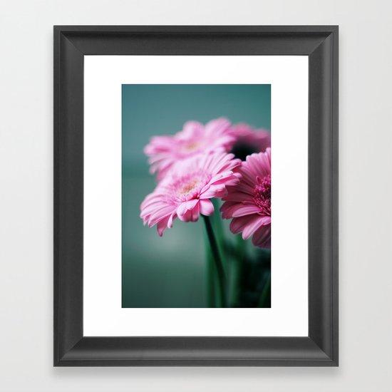 Pink Gerbera Dream°2 Framed Art Print