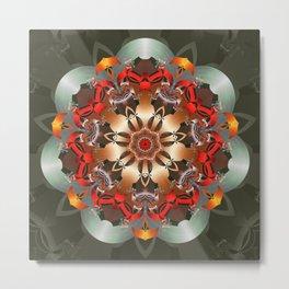 Enlighten Mandala Metal Print