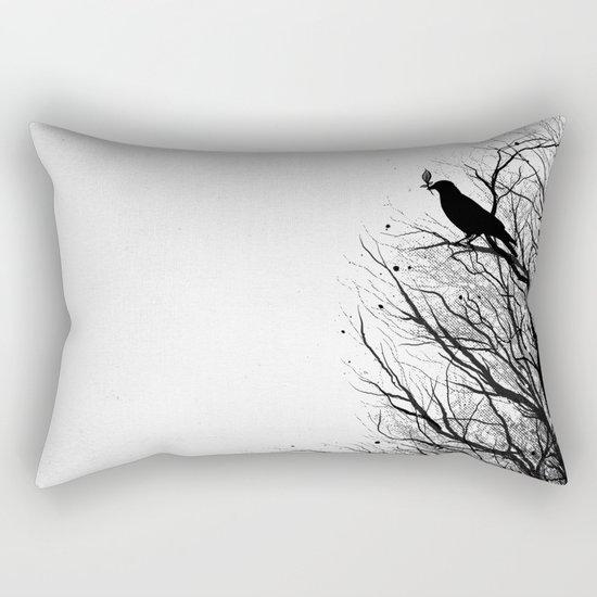 Dead Tree Rectangular Pillow