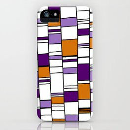 Poyple and Oynge iPhone Case