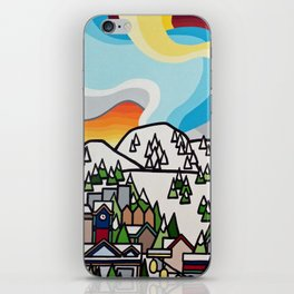 Almost Apres Ski iPhone Skin