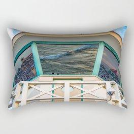 Surf City Reflects  Rectangular Pillow