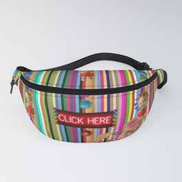 Click Here Dolly Fanny Pack