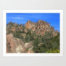 Pinnacles National Park Art Print
