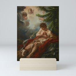 """François Boucher """"Saint John the Baptist"""" Mini Art Print"""