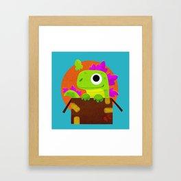 Kaiju Box Framed Art Print