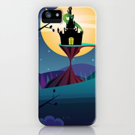The Tale of the Lone Knight iPhone Case
