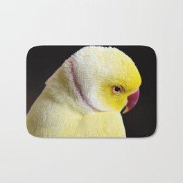 Shy Parakeet Bath Mat