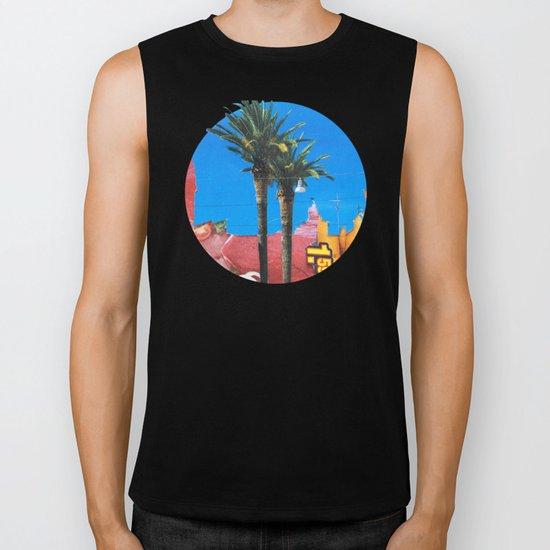 Meat Dream Party Land Series · Meat Desert City Dream Town · QV Biker Tank