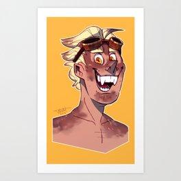 Rat Portrait Art Print