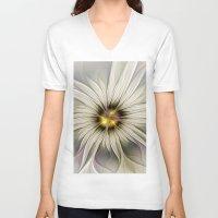 blossom V-neck T-shirts featuring Blossom by gabiw Art