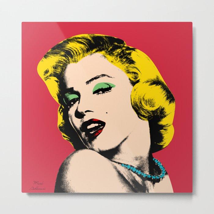 Marilyn Metal Print