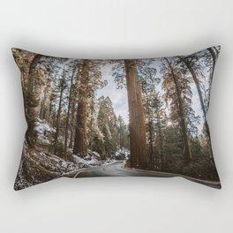 Giant Forest Exploring Rectangular Pillow
