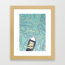 Rock Arrange Framed Art Print