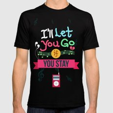 IF I STAY: I'll Let You Go Mens Fitted Tee MEDIUM Black