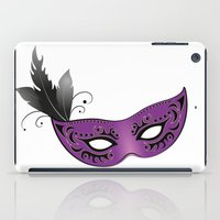 majoras mask iPad Cases featuring mask by Li-Bro