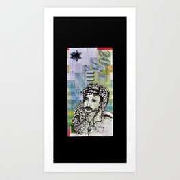 The New Palestinian Shekel Art Print