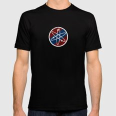Big Bang Party Mens Fitted Tee Black SMALL