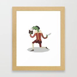 William Snakespeare Framed Art Print