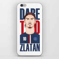 zlatan iPhone & iPod Skins featuring Z.I by Micka Design