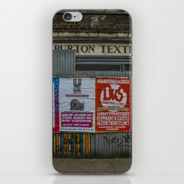 Wilburton Textiles iPhone Skin