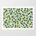 Rockpool Triangles by sallycummingsdesigns
