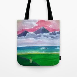 Look Towards the Hills Tote Bag