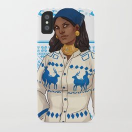 Very Merry Isabela iPhone Case