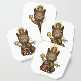 King of Squirrels Coaster