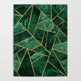 Deep Emerald Poster