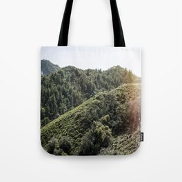 Up on the Mountain Top Tote Bag